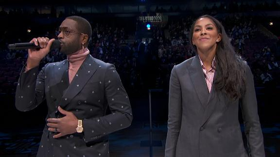 D-Wade, Candace Parker lead 24.2-second tribute to Kobe, Gigi, David Stern
