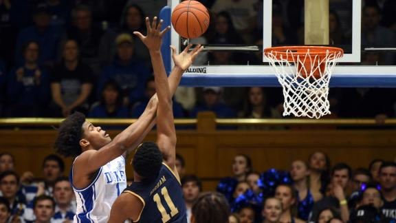 Carey, Jones lift Duke to blowout win against Notre Dame