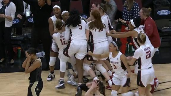 Williams rainbows in buzzer-beating 3 for Stanford