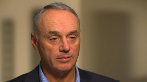 Manfred defends punishment of Astros in exclusive interview