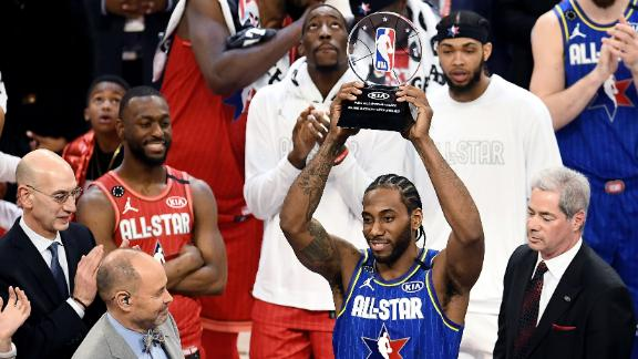 Kawhi takes home the MVP, scoring 30 points