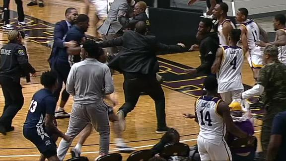 Prairie View A&M and Jackson State get in postgame brawl