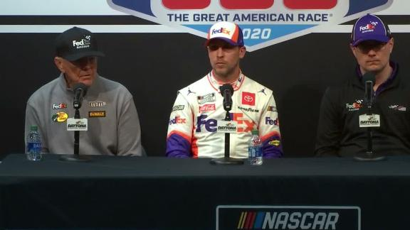 Hamlin, Gibbs react to Newman's crash