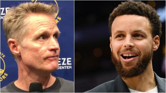Kerr certain on Steph's status for 2019-20