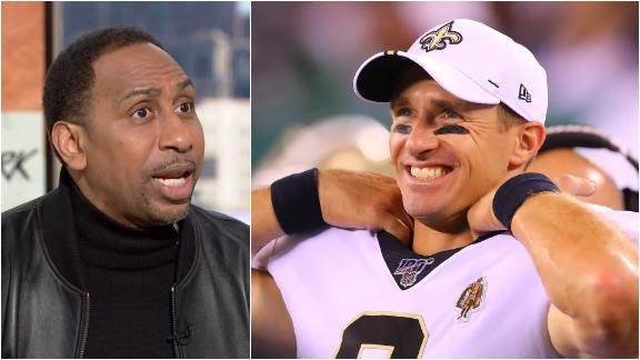 Why Stephen A. isn't sold on Brees, Saints