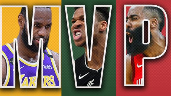 The King. The Freak. The Beard. An MVP will rise. Check out these highlights