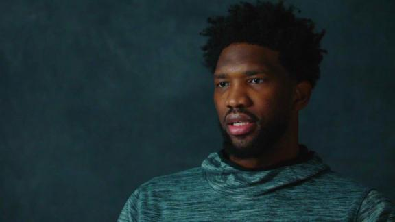 Embiid opens up on rollercoaster season, talking trash, playing with Simmons