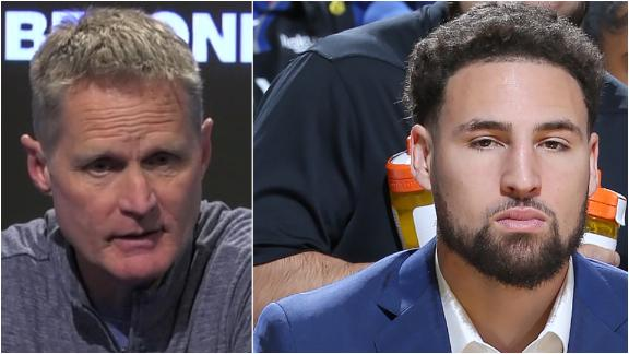 Kerr unsurprised about Klay's ruling for remainder of season