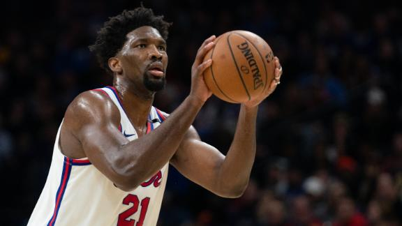 Embiid's 39 points lead 76ers past Nets in OT thriller