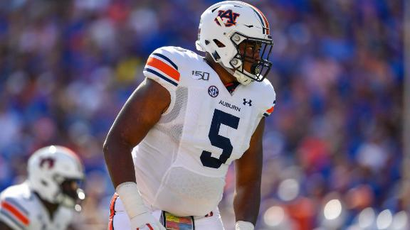 Auburn DT Derrick Brown ready to bring this type of dominance to the NFL