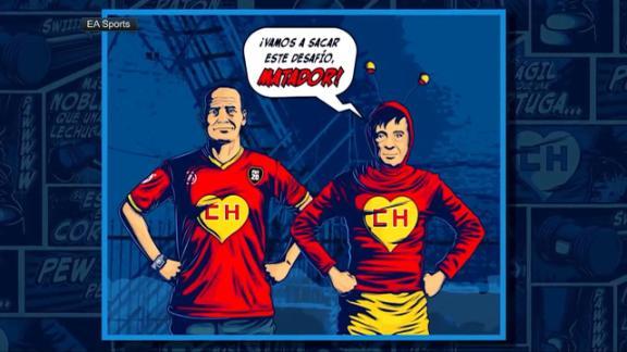 El 'Matador' presentó uniforme especial de FIFA en honor el Chapulín Colorado