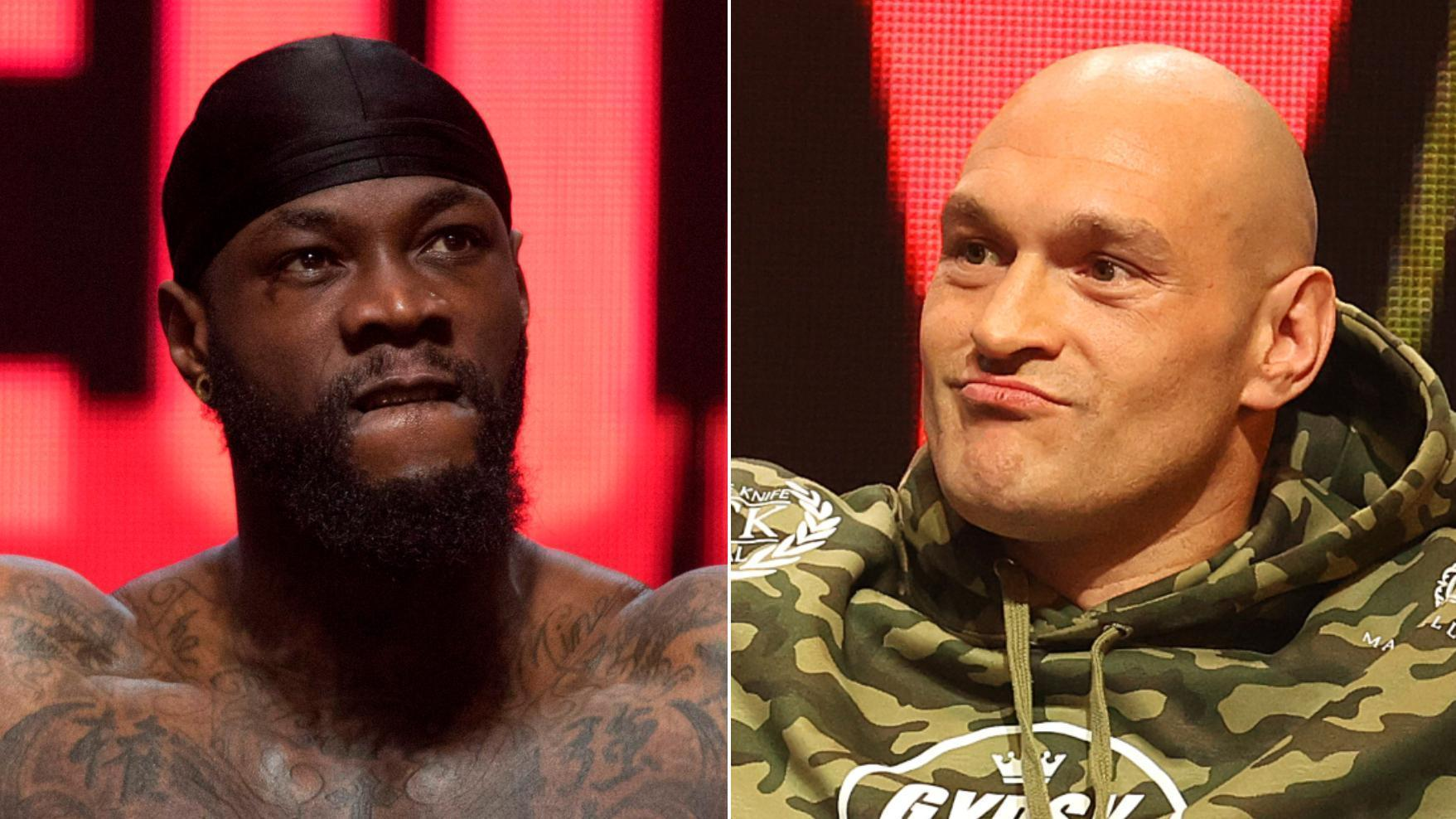 Wilder, Fury weigh in for rematch