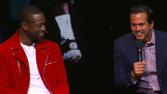 Spoelstra: Wade in a Cavs' uniform looked horrible!