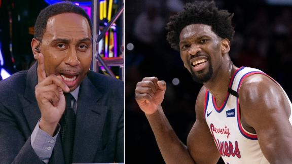 Why Stephen A. doesn't want to hear about Embiid being best in the world