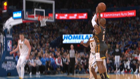 CP3 shimmies and shakes, buries the and-1 3-pointer