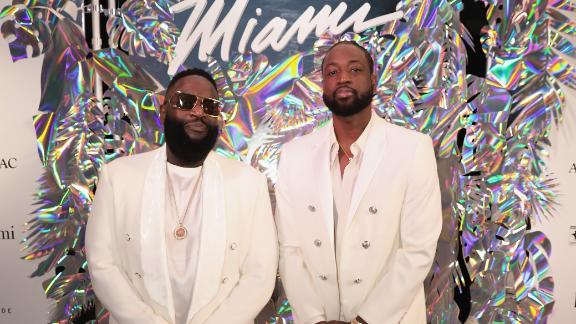 D-Wade celebrates Miami in rap debut with Rick Ross