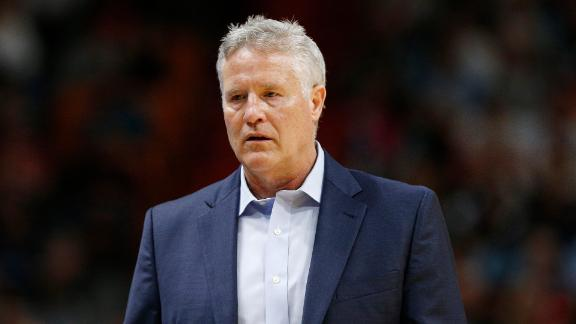 How does Brett Brown protect his future with the 76ers?