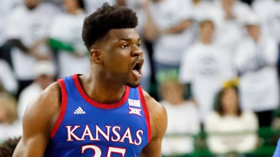 Azubuike's double-double helps Kansas takes down No. 1 Baylor