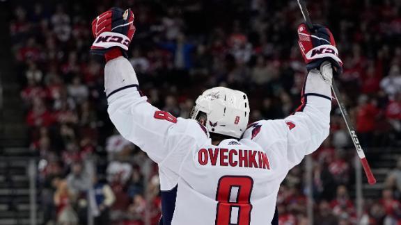 Ovechkin nets 700th career goal