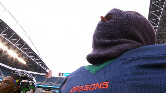 Dragons break out turnover mask after INT