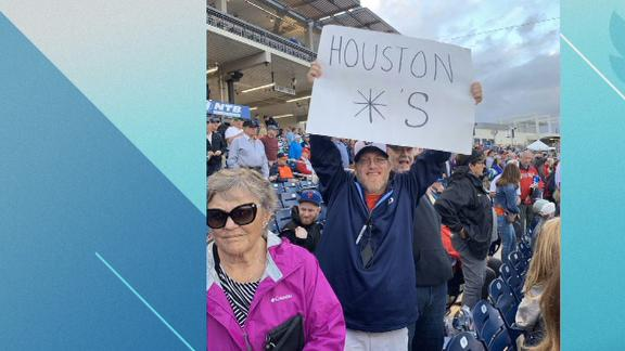Fans' signs confiscated at Nationals vs Astros spring opener