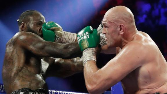Fury wins rematch vs. Wilder via TKO