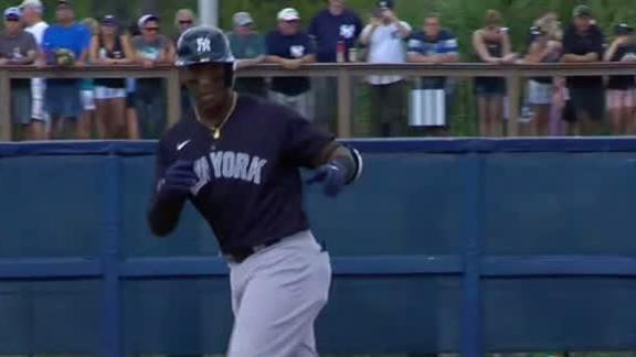 Andujar homers in first game back from injury