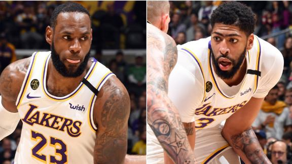 AD, LeBron fuel Lakers past rival Celtics