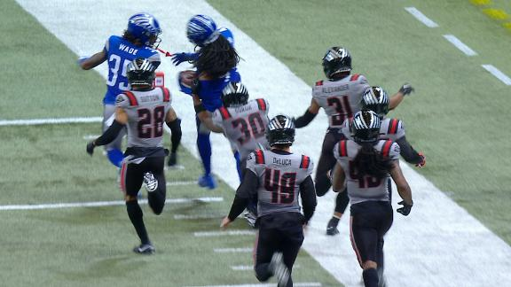 BattleHawks score first ever kickoff return TD in XFL