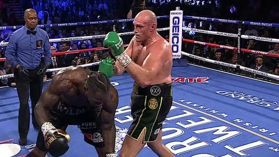 Fury drops Wilder in Round 3