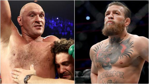 Nutritionist compares working with Fury, McGregor