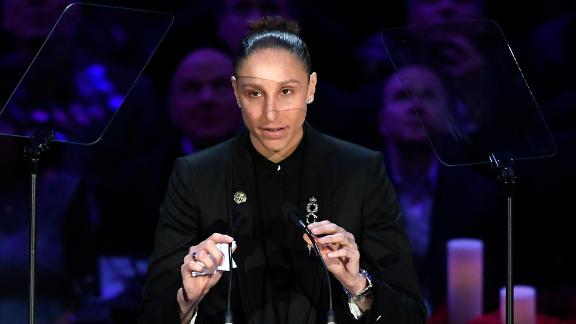 Taurasi tears up talking about Gianna's passion