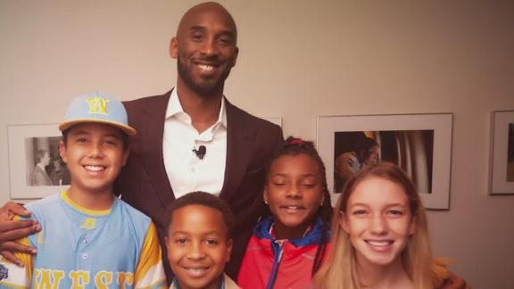 Kobe's passion for youth sports continues to inspire