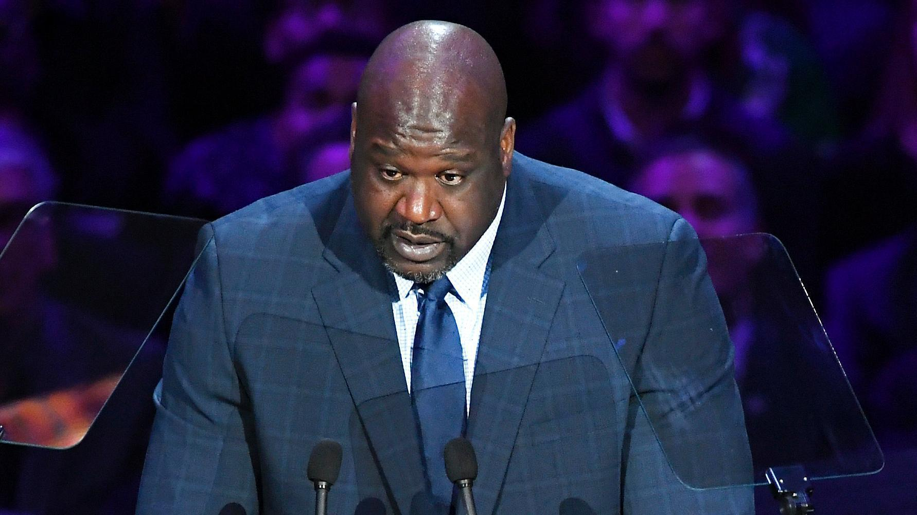 Emotional Shaq shares the day Kobe gained his respect