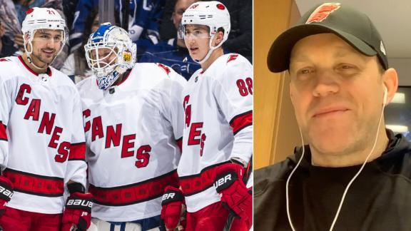 Zamboni driver reflects on filling in as emergency NHL goalie