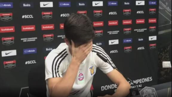 Jürgen Damm rompió en llanto al no renovar con tigres
