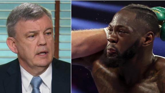 Was Wilder's trainer justified throwing in the towel?
