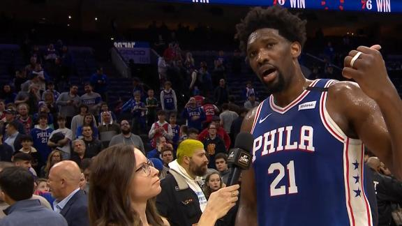 Embiid flips off Huerter, apologizes after game