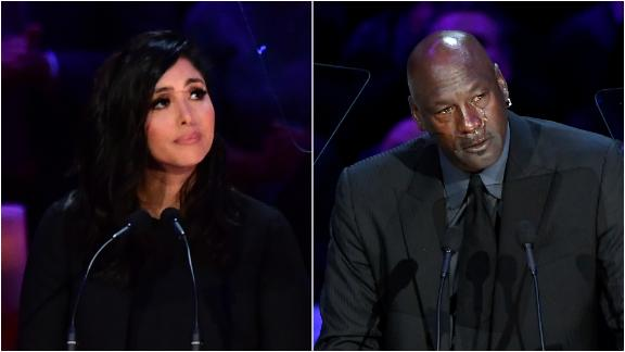 Vanessa Bryant, MJ, Shaq and Ionescu remember Kobe and Gianna