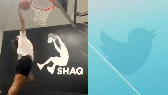 Shaq's daughter nearly throws down... at age 13