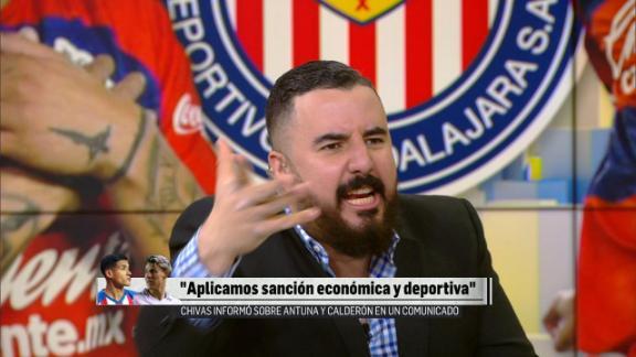 """Álvaro Morales sobre indisciplinas en Chivas: """"Falta de liderazgo de Amaury Vergara"""""""