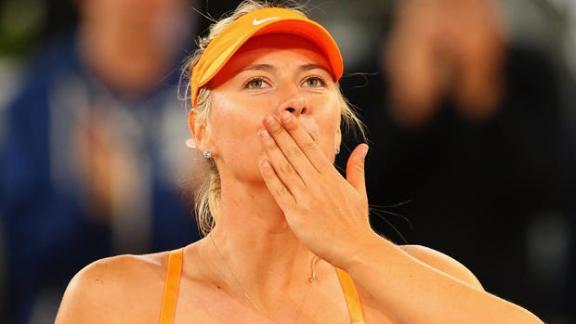 Sharapova y una carrera marcada por la gloria
