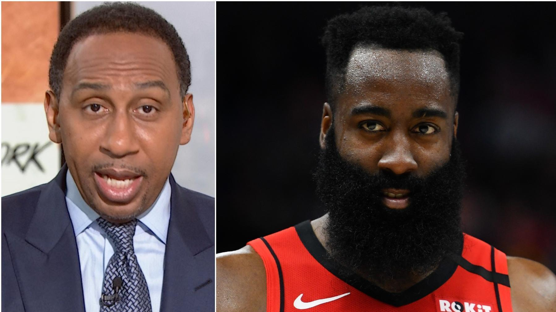 Stephen A. is having none of Max's Harden disrespect