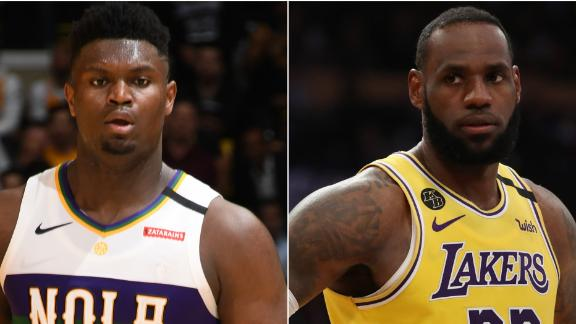 Inside Zion's first matchup vs. LeBron