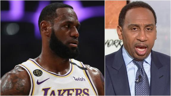 Why Stephen A. was unimpressed by LeBron's performance vs. Zion