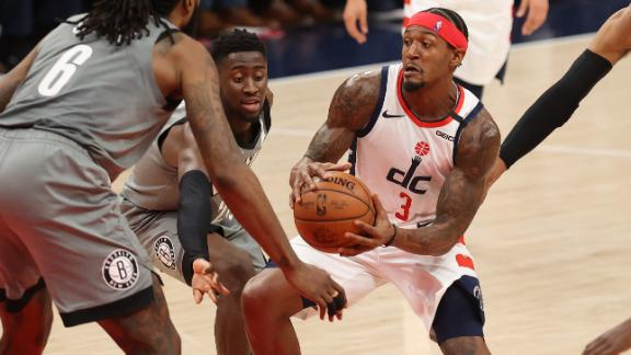 Beal's 50-point scoring streak ends with 30 vs. Nets