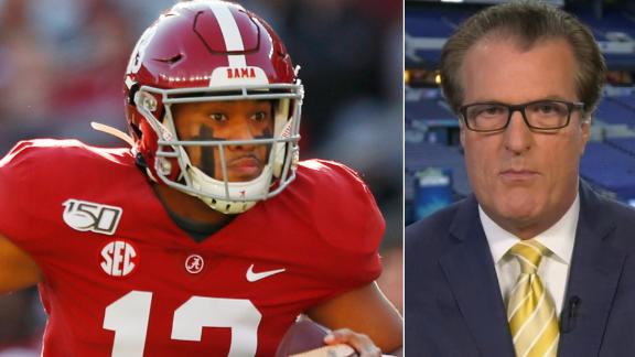 What are the chances Redskins take Tagovailoa?