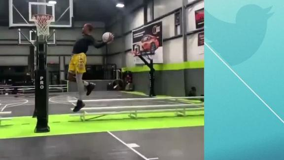 Here's the latest must-see dunk to take the Internet by storm