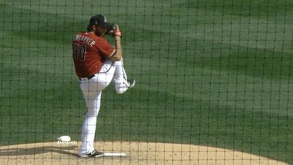 Bumgarner strikes out 4, gives up HR in spring training debut