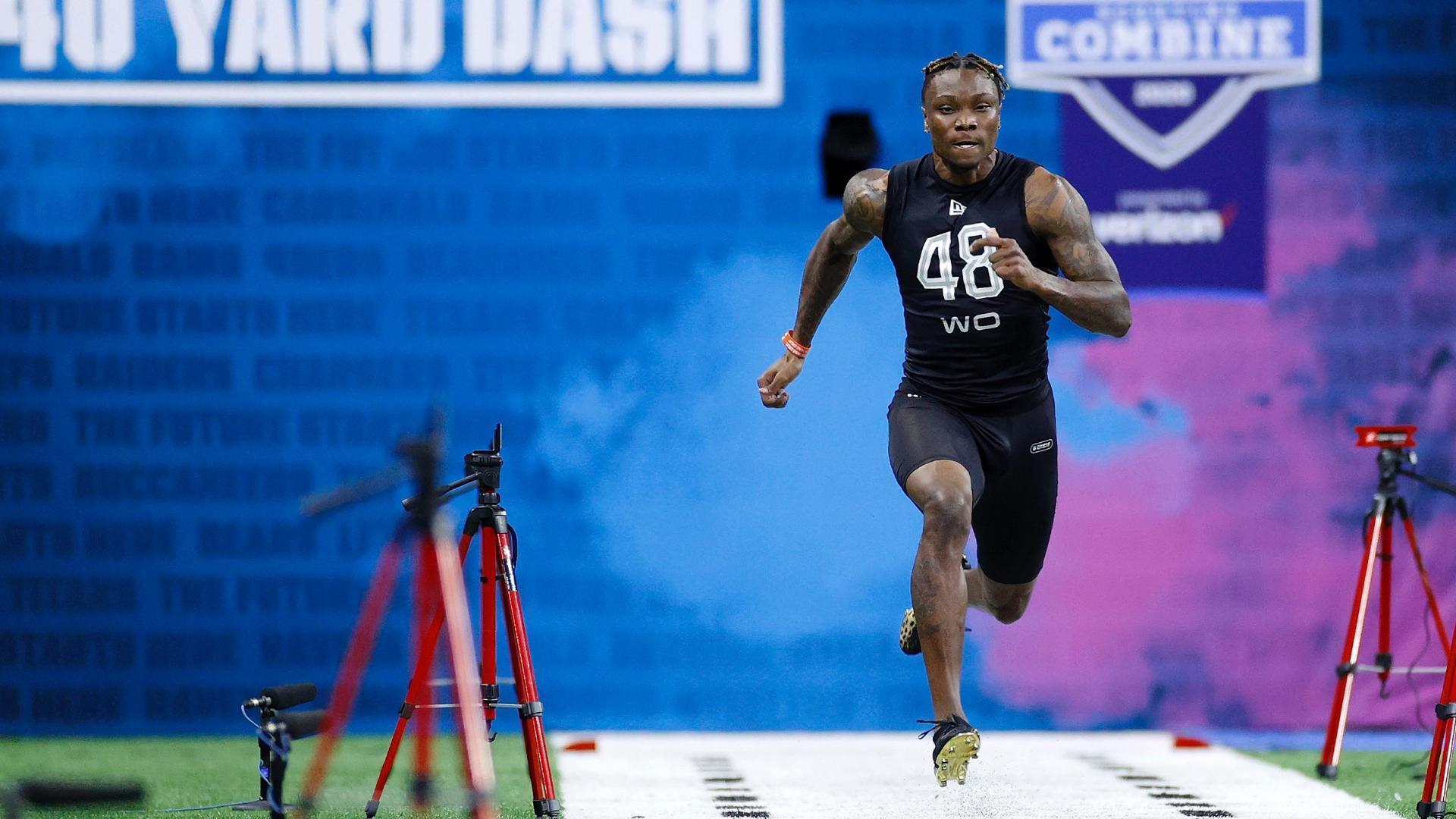 Ruggs runs combine-best 4.27 40-yard dash